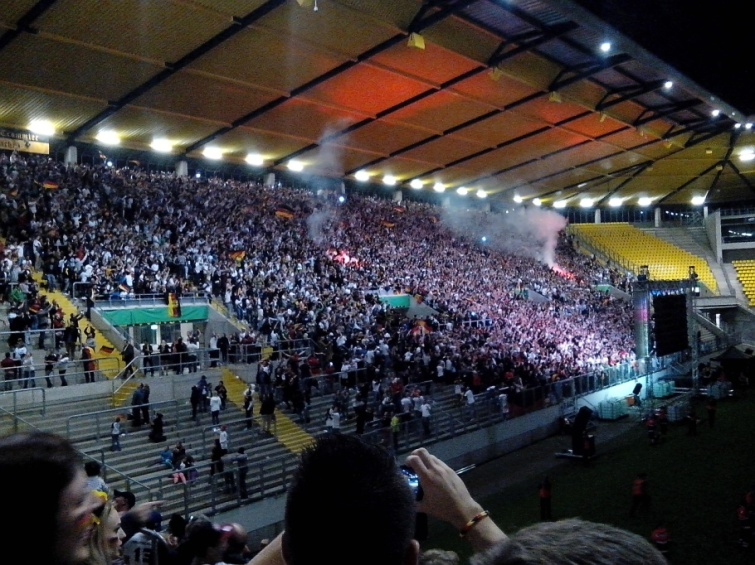 Viewing stadium