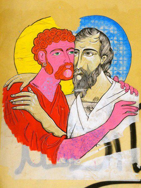 East-west Jesus'