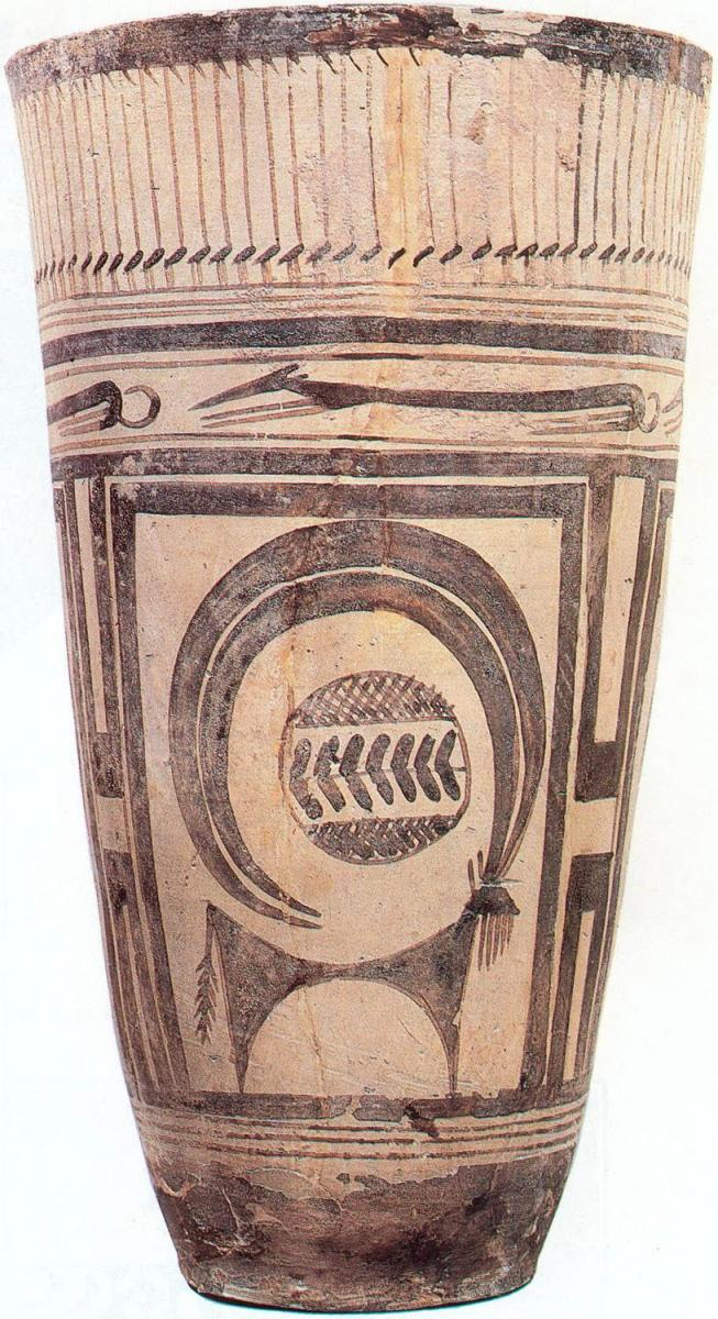 #5 Beaker with ibex motifs