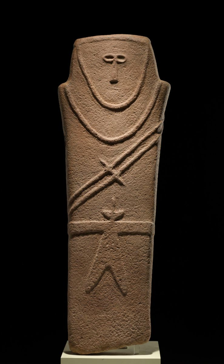 #6 Anthropomorphic stele