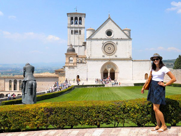 Assisi with me