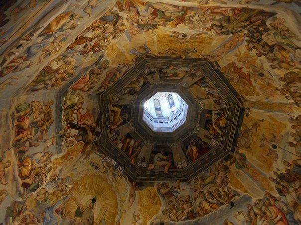 Duomo dome fresco