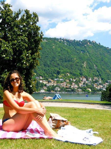 Lake Como with me