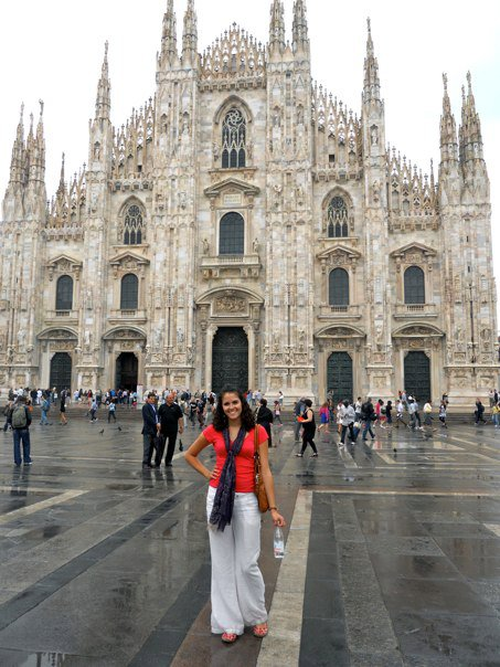 Milano Duomo with me