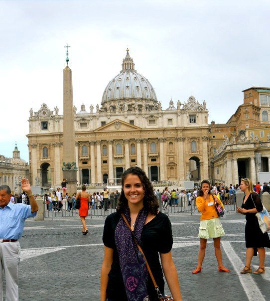 Peters Basilica with me