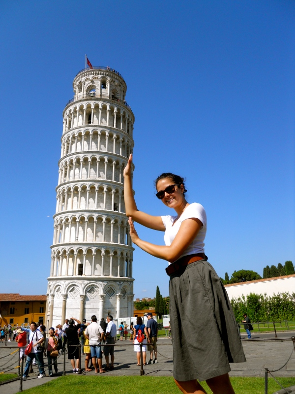 Pisa Tower with me