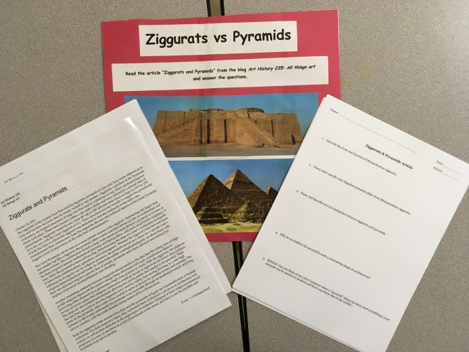 compare and contrast the ziggurats to the pyramids Compare mayan pyramids & egyptian pyramids the mayan pyramid is truncated so that a temple can be built on the top the staircases lead from ground level to the.