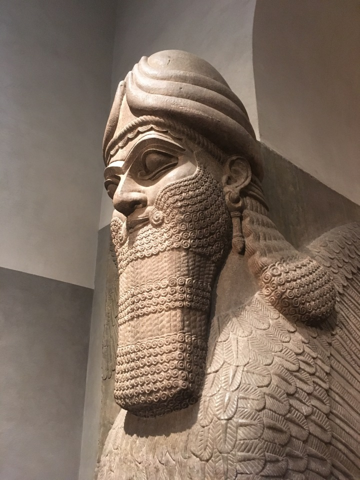 J is for Journey #25. Lamassu from the citadel of Sargon II