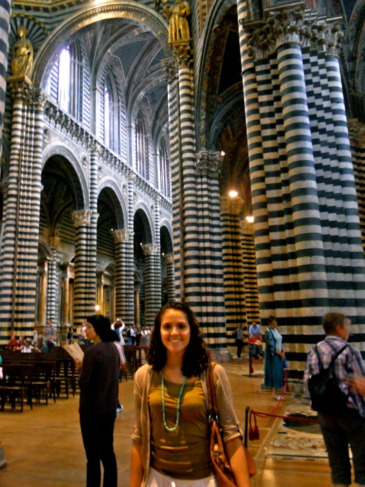 interior, Cathedral, Siena with me