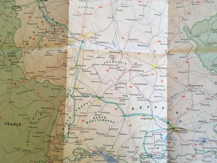 rick steves map-germany