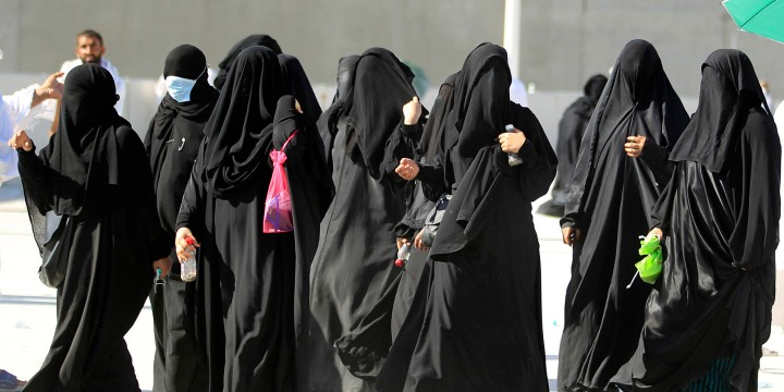 Mideast Saudi Women