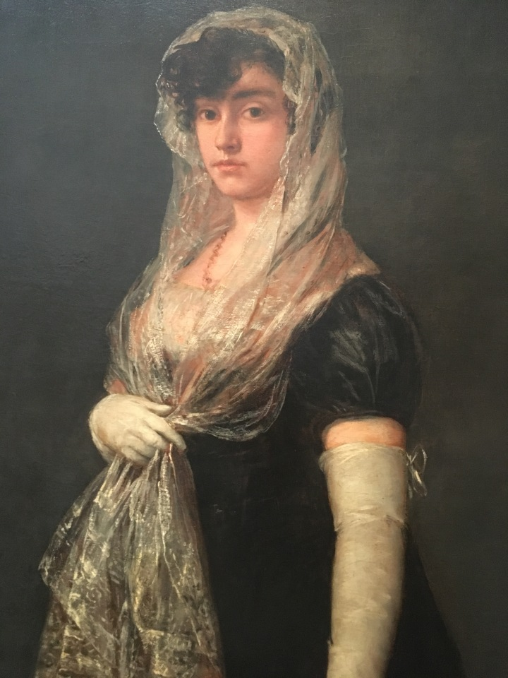 NGA-Francisco de Goya, Young Lady Wearing a Mantilla, 1800-1805