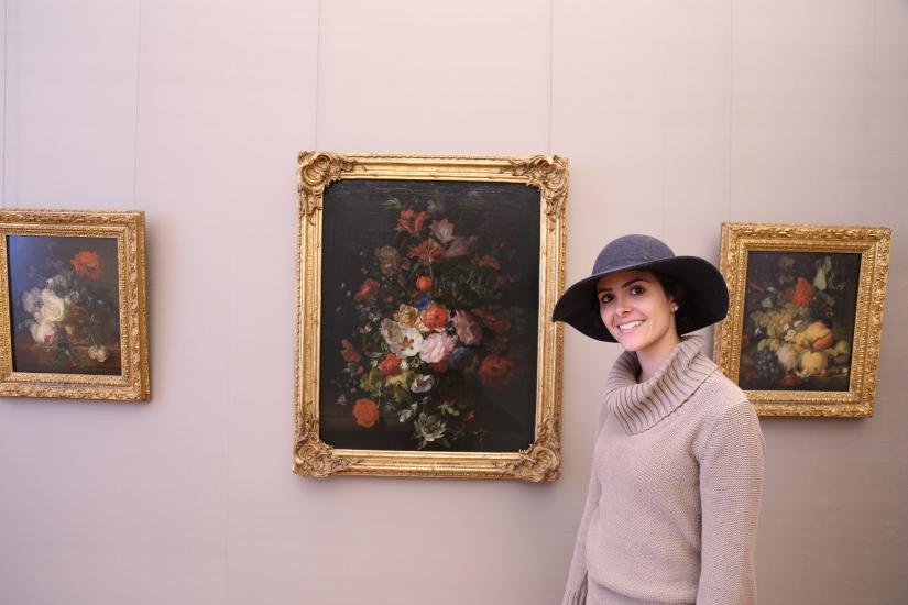 Floral still-lifes, Rachel Ruysch-with me