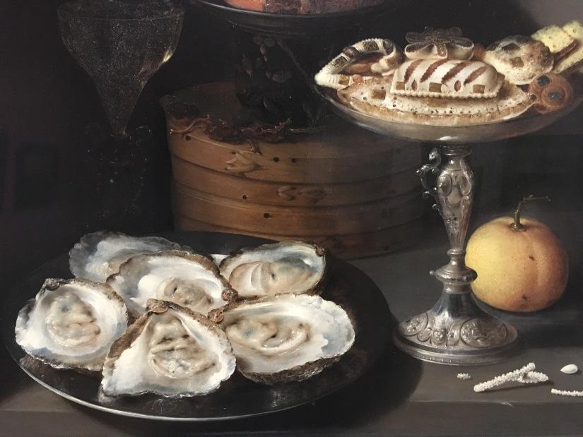 MFA-Still life oyster detail