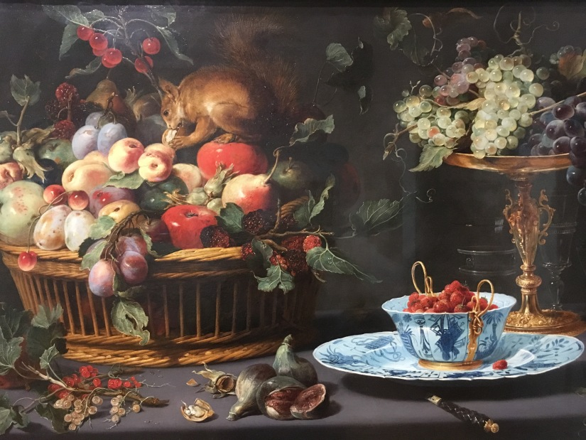 MFA-Still Life with Fruit, Wan-Li Porcelain, and Squirrel, Frans Snyders, 1579-1657