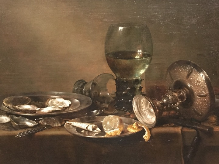 Still Life with Oysters, a Silver Tazza, and Glassware, Willem Claesz Heda, 1635