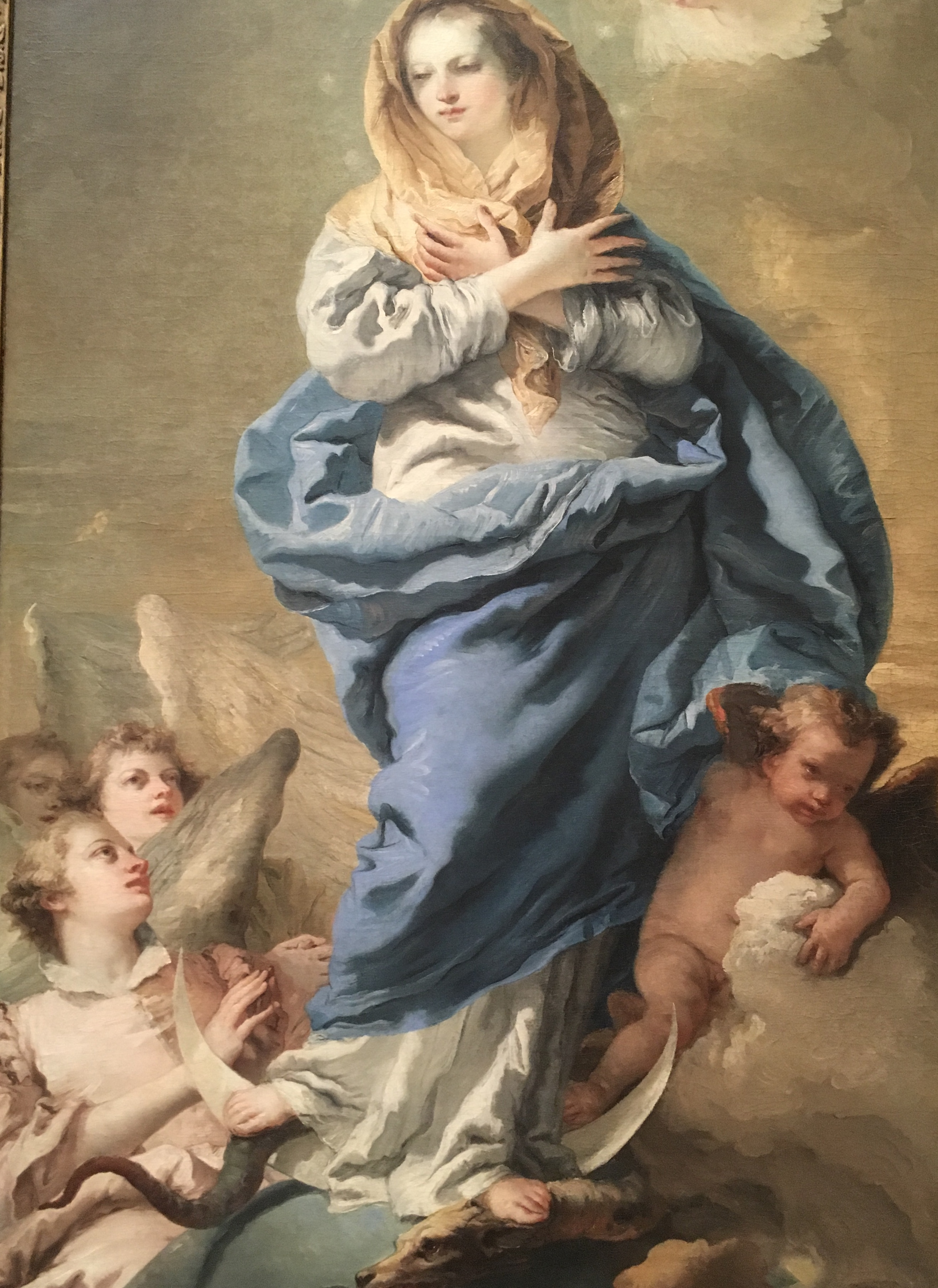 NGA-Giovanni Domenico Tiepolo, Immaculate Conception, 1775