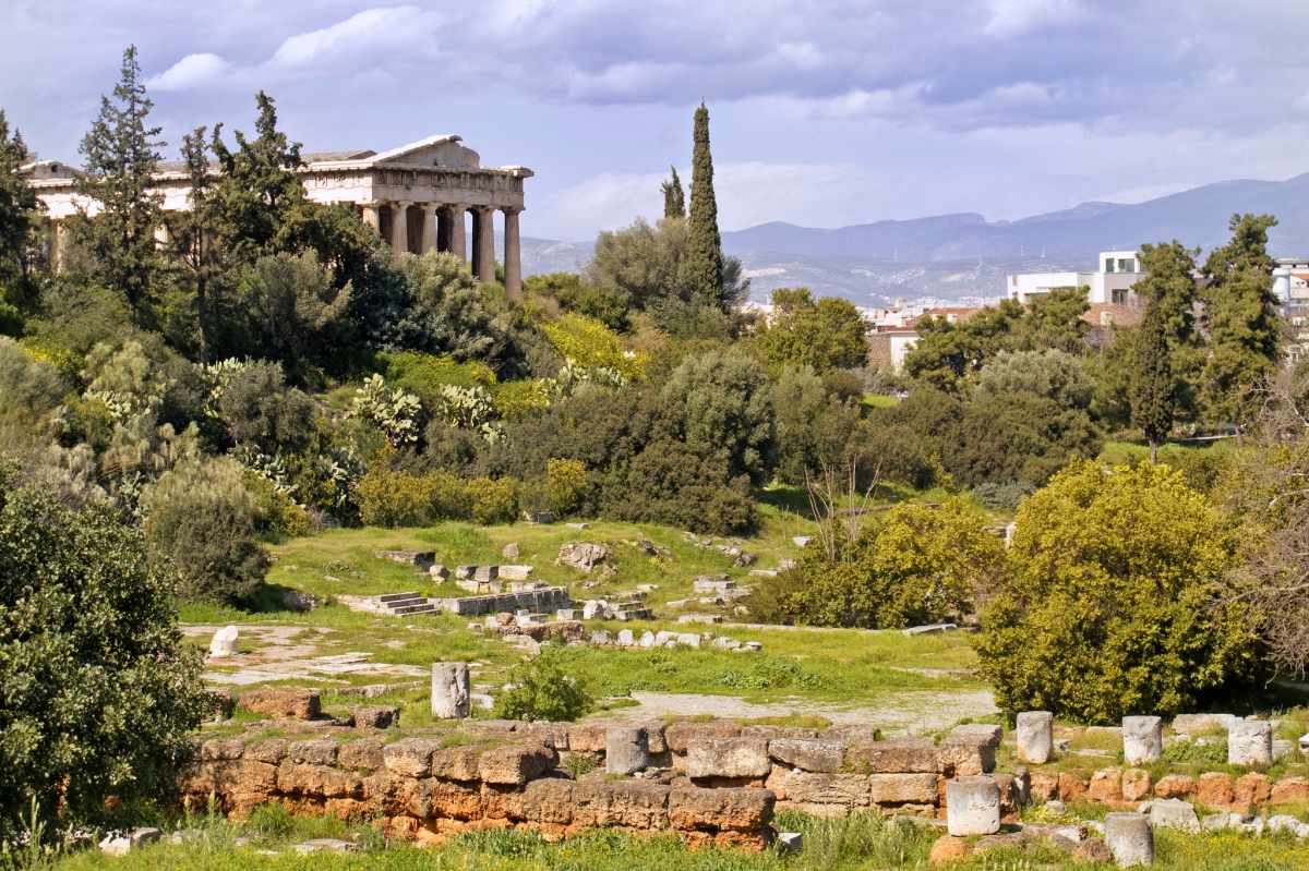 J is for Journey #26. Athenian agora