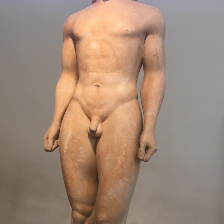 Anavysos Kouros torso