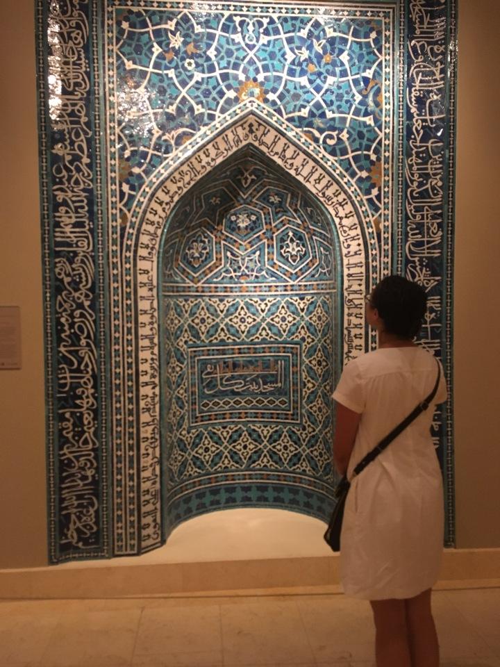 Met-mihrab with me