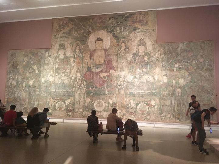 Met-wall of Buddha