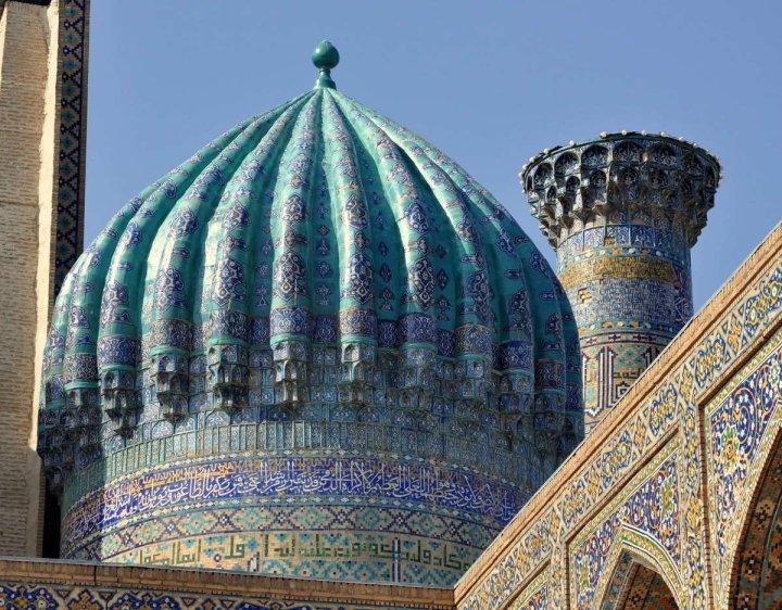 Dome-Of-The-Bibi-Khanym-Mosque-In-Uzbekistan