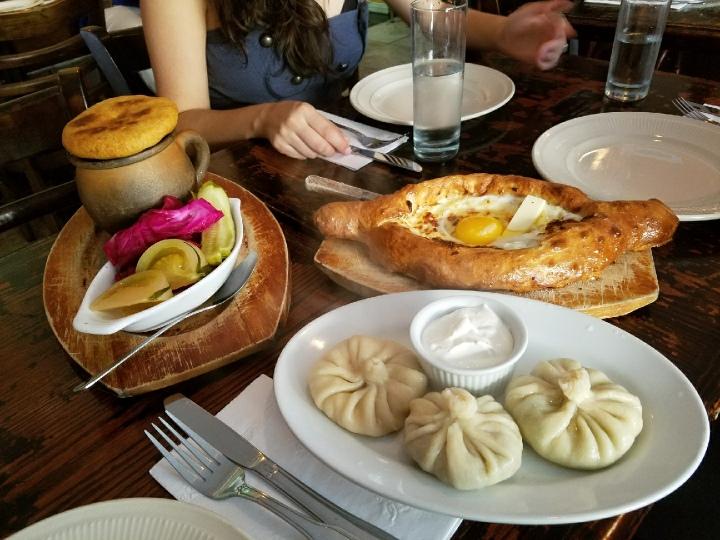 Chris Watkins-Georgian Food