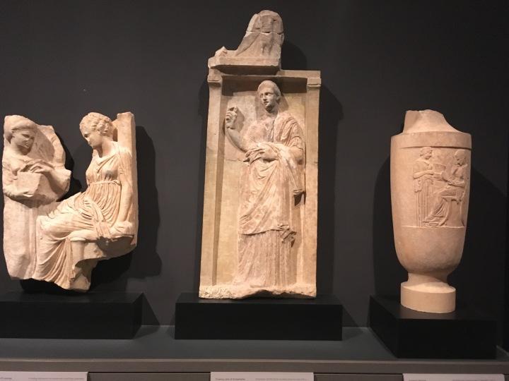 MFA-Greek statuary