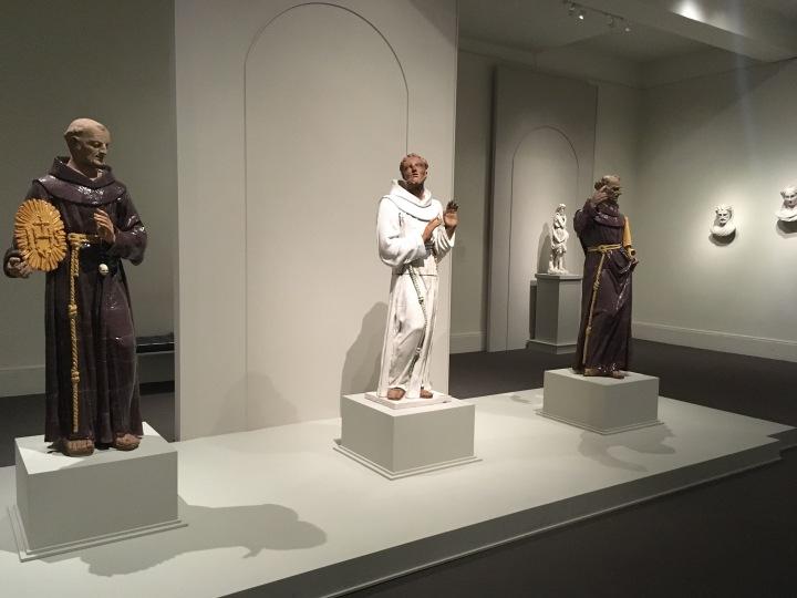 MFA-saints color statues