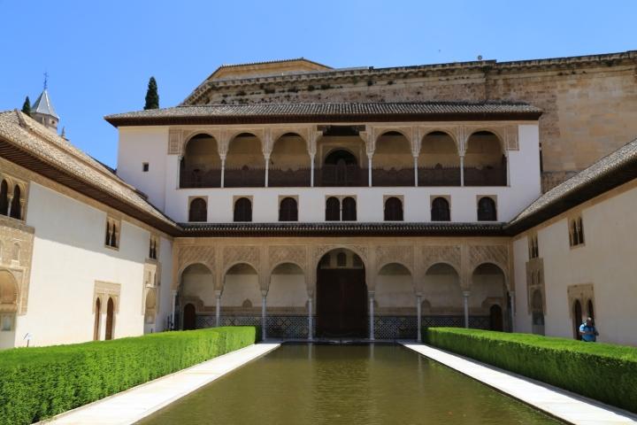 Alhambra-Nasrid pool