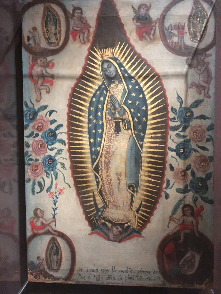 Brooklyn Museum-Virgin of Guadalupe, Isidro Escamilla, 1824, oil on canvas