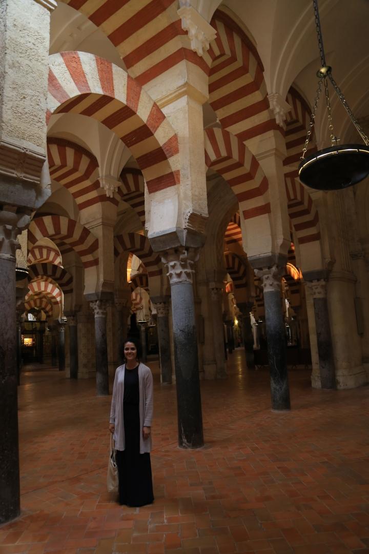 Mezquita-interior with me