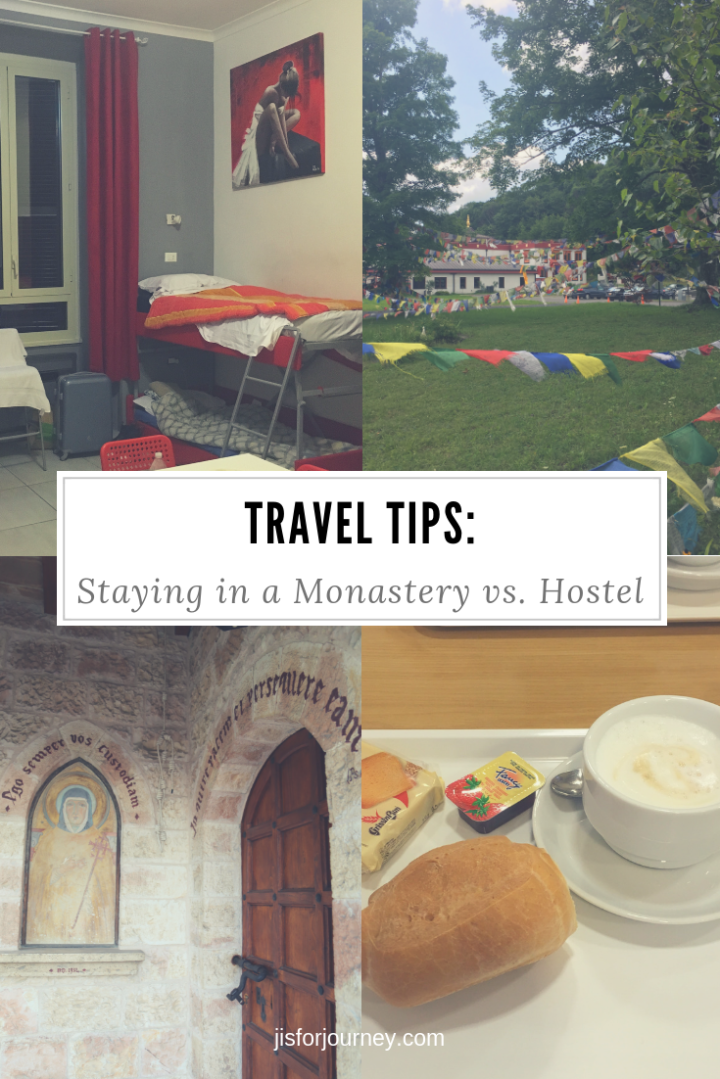 travel tips_ monastery vs hostel