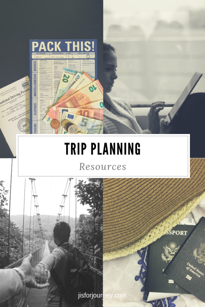 trip planning resources